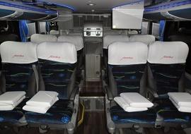 Aluguel de micro ônibus e vans - Abratur
