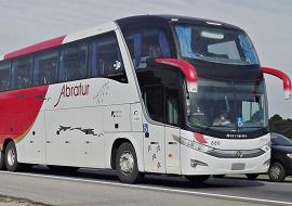 Aluguel de ônibus executivo - Abratur