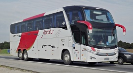 Fretamento de ônibus de turismo 2 - Abratur