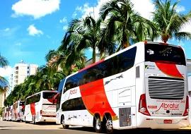 Fretamento de ônibus de turismo - Abratur