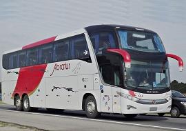 Fretamento de ônibus executivo - Abratur