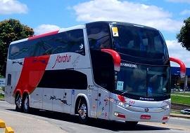 Fretamento de ônibus leito - Abratur