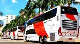 Fretamento de ônibus lowdrive 3 - Abratur