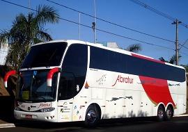 Fretamento de ônibus lowdrive - Abratur