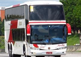 Fretamento de ônibus para excursão - Abratur