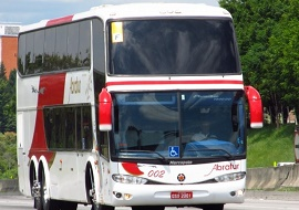 Fretamento de ônibus para viagens - Abratur