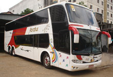 Fretamento de ônibus - Abratur