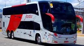 Ônibus no aeroporto de Guarulhos 4 - Abratur