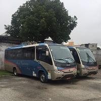 Fretamento de ônibus eventual