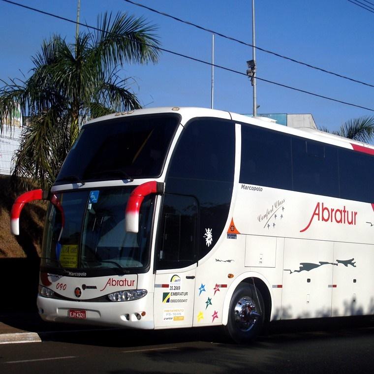 Locação de ônibus no aeroporto de Guarulhos