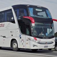 Ônibus no aeroporto de Guarulhos